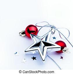 裝飾, 樹, 聖誕節