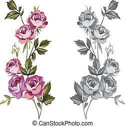 裝飾, 玫瑰