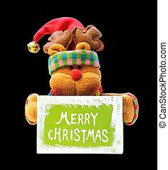 裝飾, -, 聖誕節, 熊