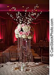 裝飾, beautifully, 管轄地, 婚禮