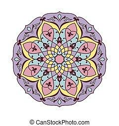 裝飾, pattern., 輪