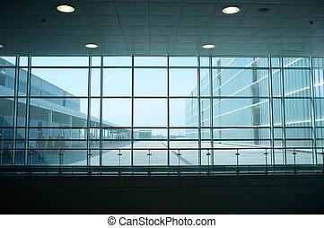 裡面, 現代, 建築物
