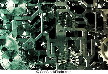 複合センター, 機械類