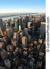 西方, 曼哈頓, 約克, midtown, 新