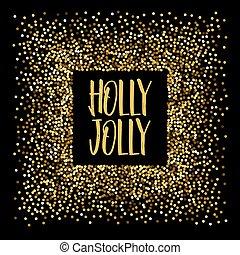 西洋ヒイラギ, 旗, クリスマス, jolly.