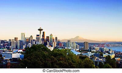 西雅图地平线