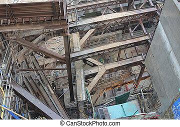 西, 鉄道, 発展しなさい, サイト, kowloon