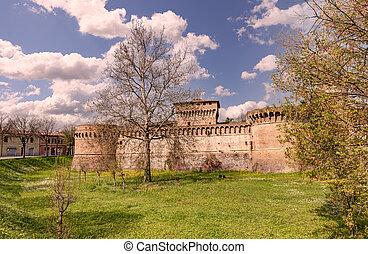 要塞, romagna, イタリア, forlì, emilia