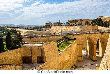 要塞,  -,  Valletta, マルタ, 光景