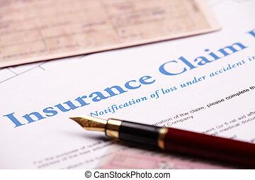 要求, 保険, 形態, ブランク