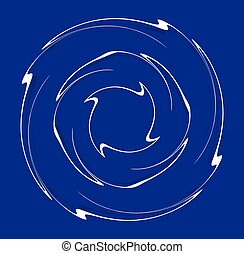 要素, らせん状に動く, モノクローム, 回転, 背景, 上に, 巻き毛, illustration., より糸, single-color, デザイン, らせん状に動きなさい, カール, 背景。, helical, helix, volute, 形。, 渦巻, 白