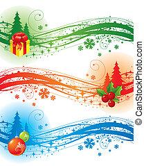 要素, デザイン, クリスマス