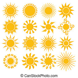 要素, 太陽, -, デザイン