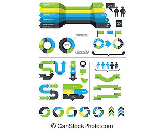 要素, infographics, デザイン