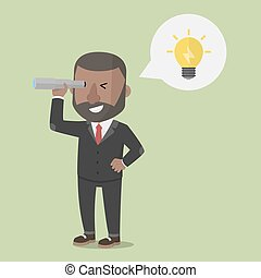 見る, 企業家, 考え