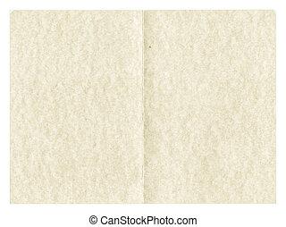 見る, 型, 羊皮紙