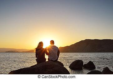 見る, 太陽, 恋人, 情事