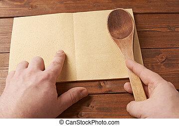 見る, 本, レシピ, 構成
