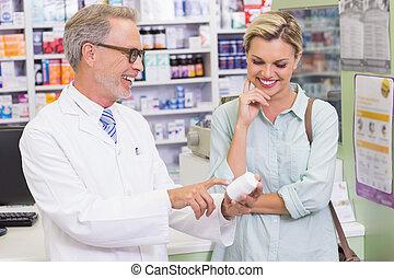 見る, 薬, 薬剤師, 顧客
