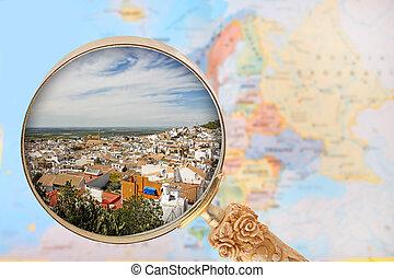見る, osuna, スペイン