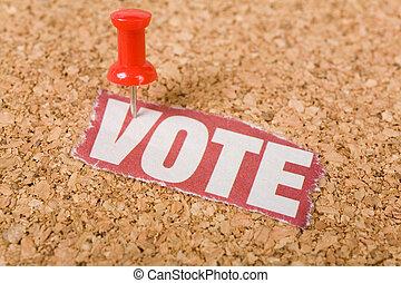 見出し, 投票