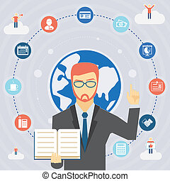 規則, ビジネス, infographics