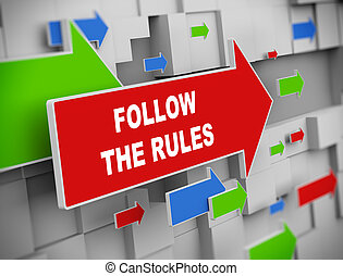 規則, -, 引っ越し, 矢, 続きなさい, 3d