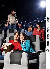 視聴, 映画館