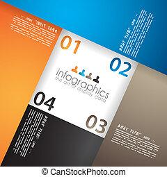 視覚化, infographic, データ, テンプレート, 統計値