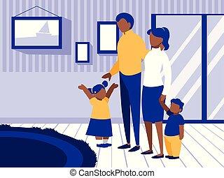 親, 子供, 恋人, 反響室