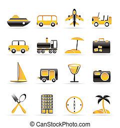 観光事業, 交通機関, 旅行
