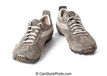 観光客, 靴