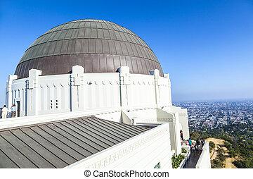 観測所, 中に, griffith, 公園, 中に, ロサンゼルス