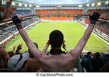 觀眾, 上, 足球