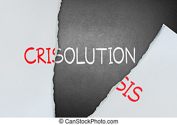 解決, 危機, ファインド