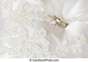 訂婚戒指, 婚禮