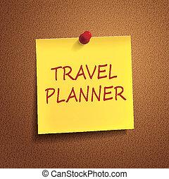 計劃者, 詞, 旅行, 郵寄它