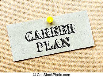 計画, イメージ, ノートペーパー, くぎ付けにされた, board., リサイクルされる, message., コルク, キャリア, 概念