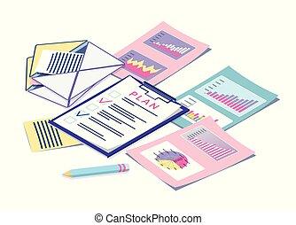 計画, マーケティング, 統計量, ビジネス, デジタル