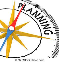 計画, 単語, コンパス