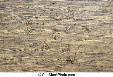 計画, 手ざわり, ビジネス, 図画, 木, 背景