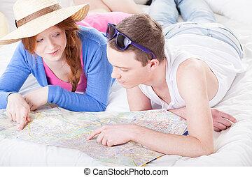 計画, 旅行