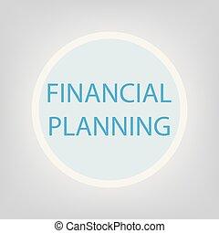 計画, 概念, 財政