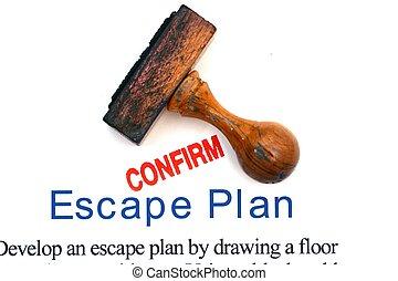 計画, 脱出