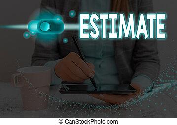 計算しなさい, 数, estimate., 量, 情報, system., データ, グラフィックス, 写真, およそ...