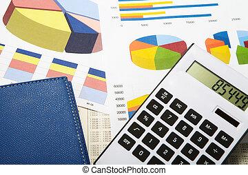 計算機, 図, 背景, ビジネス