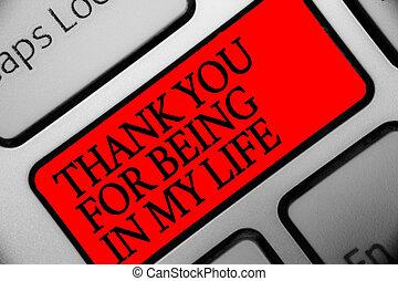 計算, ある, 写真, コンピュータキーボード, あなたの, 感謝しなさい, 執筆, メモ, intention, あなた, 赤, 情事, 誰か, ビジネス, 提示, キー, 反射, showcasing, life., 私, 側, document.