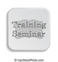 訓練, セミナー, アイコン