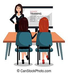 訓練, デザイン, ビジネス