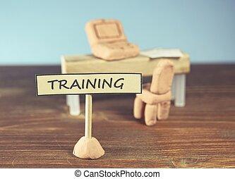 訓練, 以及, 學習, 概念